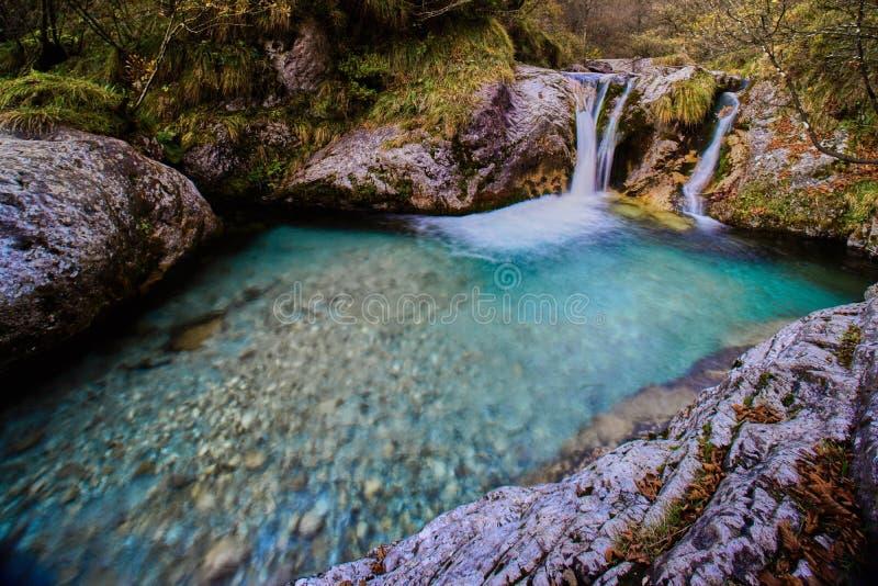 La valle incantata stock image