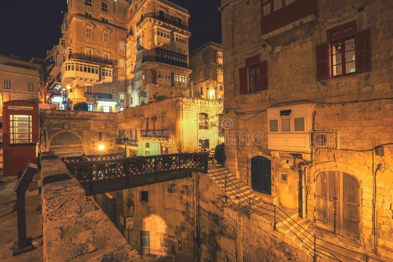La Valletta, capitale di Malta immagini stock