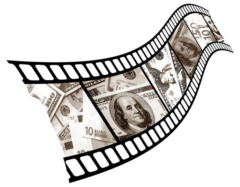 La valuta è in un colpo. royalty illustrazione gratis