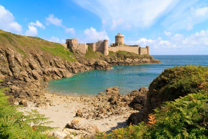 La van het fort Latte - Bretagne, Frankrijk stock afbeeldingen