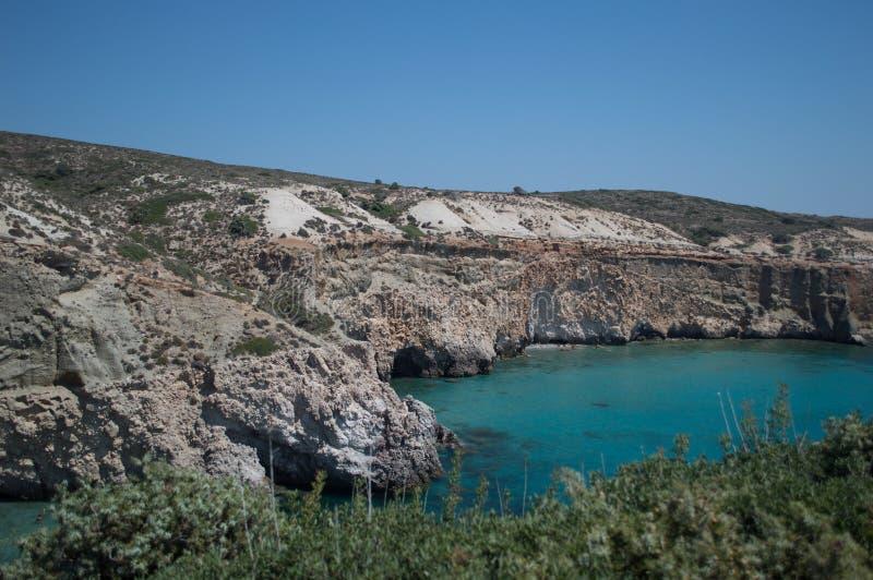La variedad de Milos Island imágenes de archivo libres de regalías