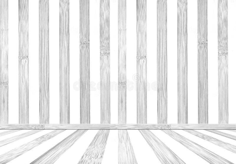 La vecchia annata di struttura di legno bianca della parete facendo uso di fondo classico o lo utilizza nella progettazione e dec immagini stock