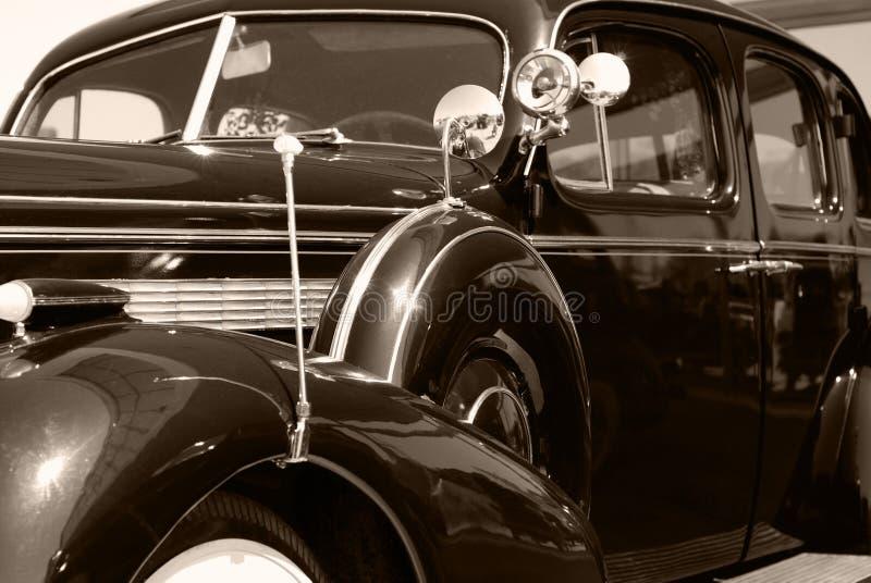 La vecchia automobile dell'americano dell'annata fotografie stock libere da diritti