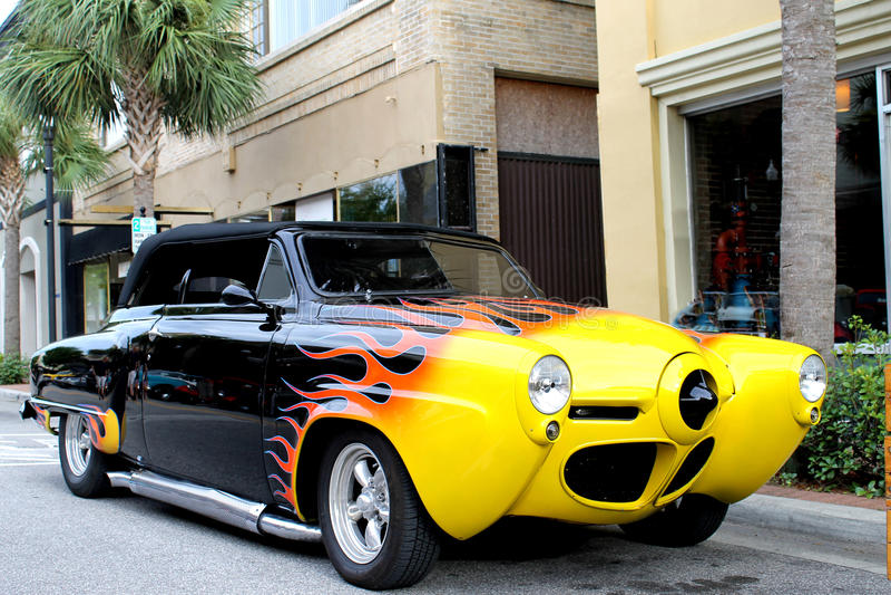 La vecchia automobile di Studebaker fotografie stock libere da diritti