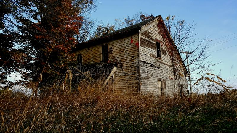La vecchia casa fotografia stock