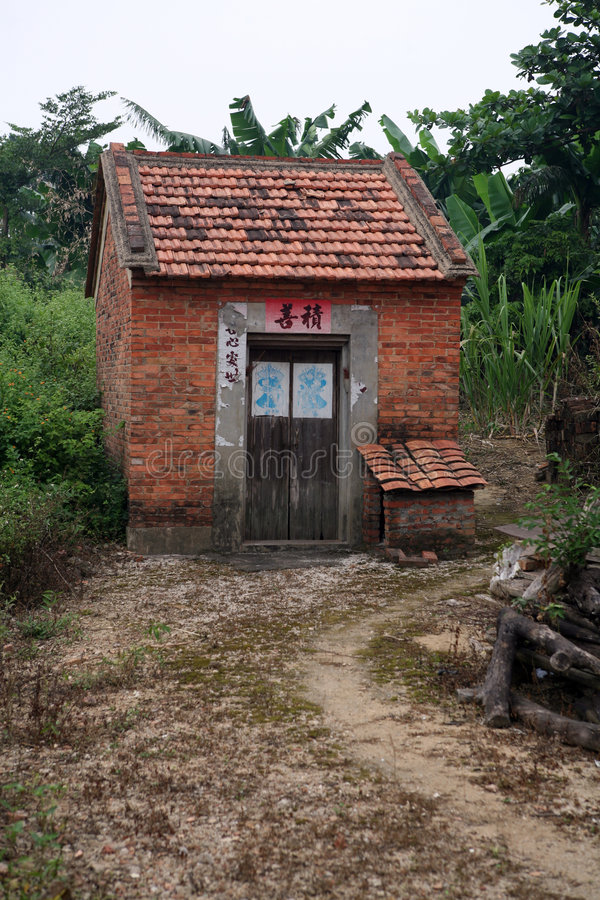 La vecchia casa immagine stock libera da diritti