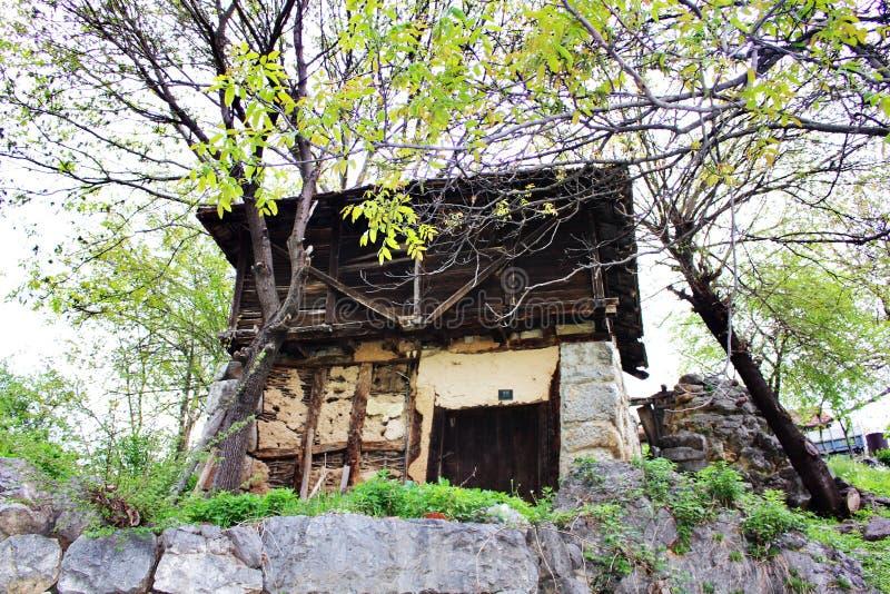 La vecchia, casa abbandonata immagine stock libera da diritti
