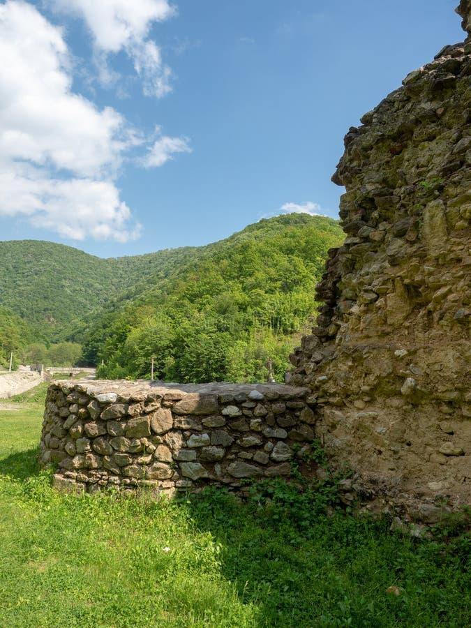 La vecchia chiesa al monastero di Vodita, Romania fotografie stock libere da diritti