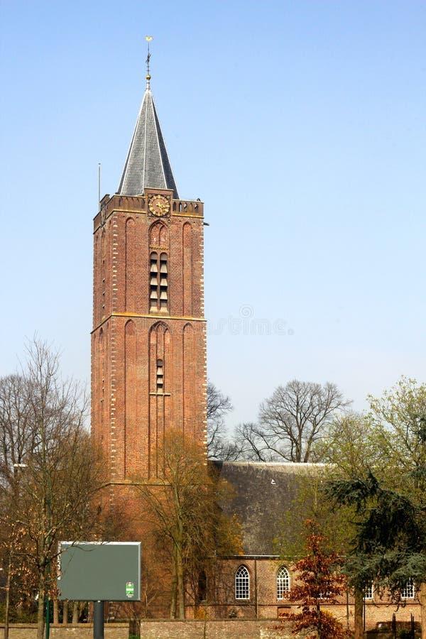 La vecchia chiesa (Oude Kerk) in Soest, Paesi Bassi immagini stock libere da diritti