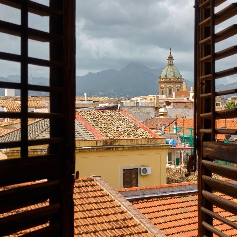 La vecchia citt? di Palermo fotografia stock libera da diritti