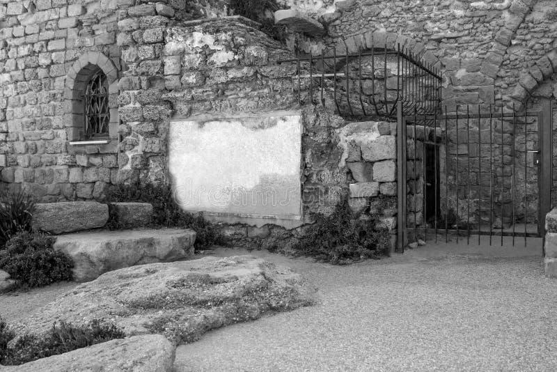La vecchia costruzione di pietra come museam immagine stock