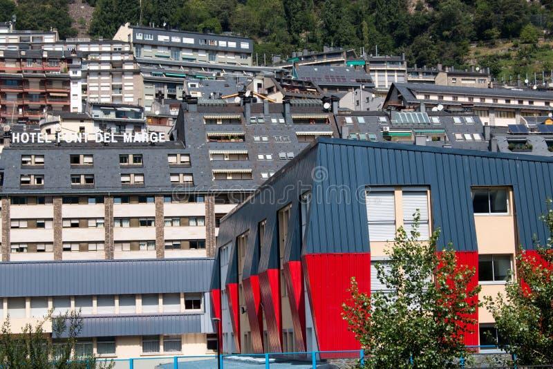 La Vella de l'Andorre images stock