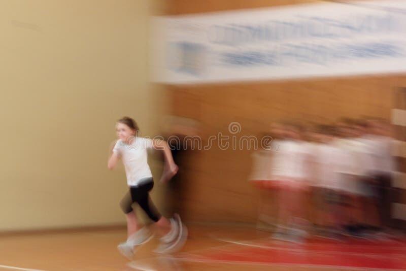 La velocità dell'atleta immagine stock libera da diritti