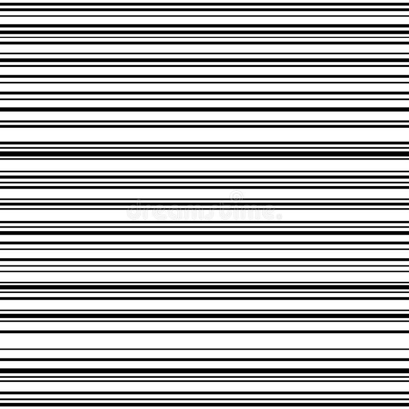 La velocità orizzontale comica allinea il fondo illustrazione vettoriale