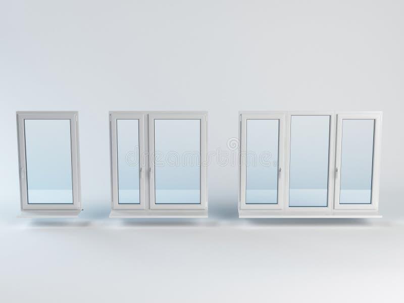 La ventana de la muestra fotografía de archivo libre de regalías