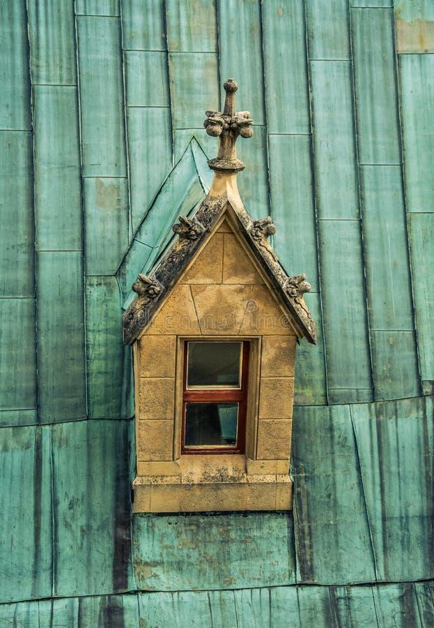 La ventana en el tejado fotos de archivo libres de regalías
