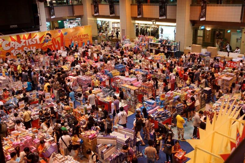 La vente de jouet la plus folle photo stock