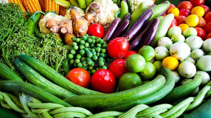 La verdura de la mezcla imagen de archivo