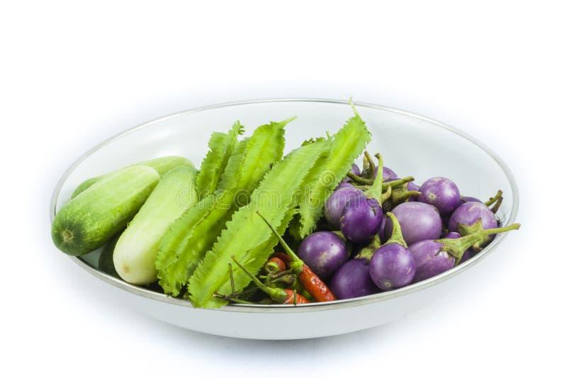 La verdura tailandesa local imagenes de archivo