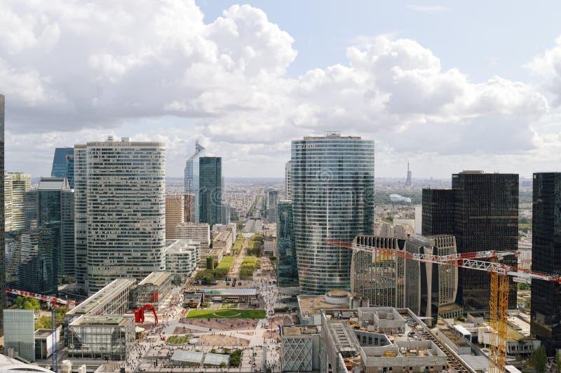 La-Verteidigung, Paris stockbild