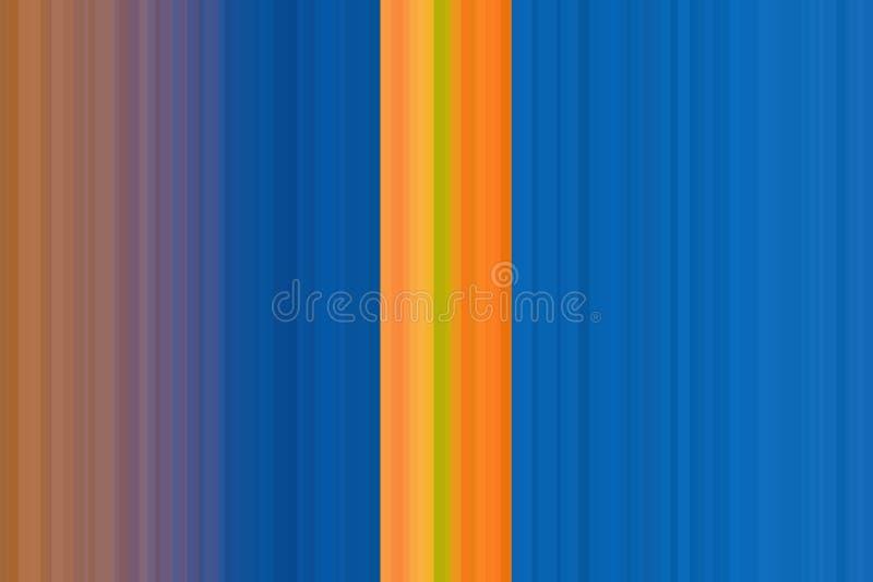 La vertical pela el diseño retro del fondo colorido, vintage Modelo inconsútil colorido de las rayas Fondo abstracto de la ilustr libre illustration