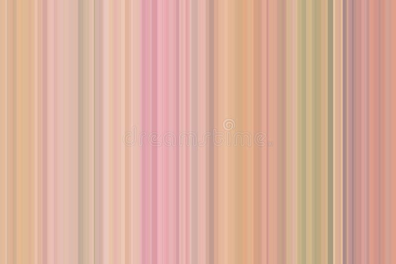 La verticale dépouille la rétro conception de fond coloré, vintage Modèle sans couture coloré de rayures Fond abstrait d'illustra illustration stock