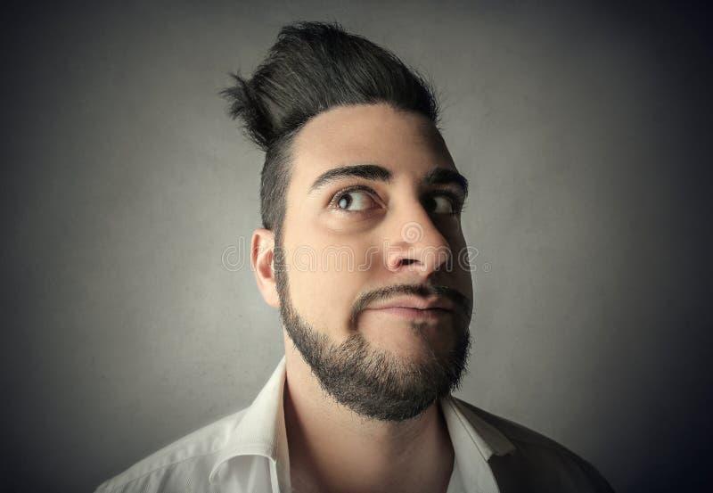 La verticale de l'homme photos stock