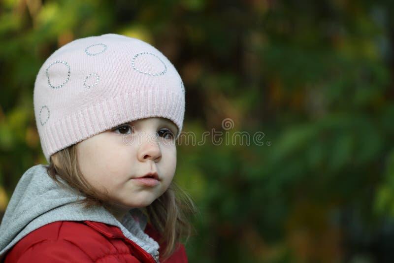 La verticale de petite fille photos stock