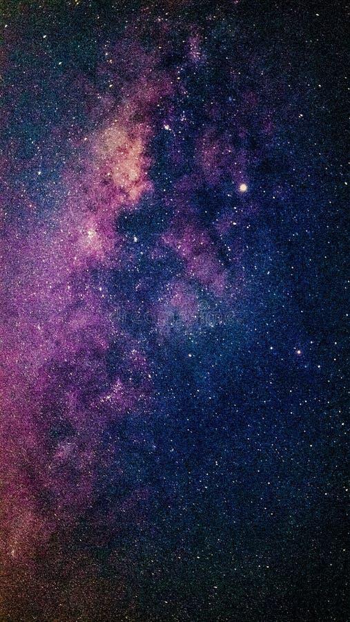La Via Lattea favolosa immagini stock