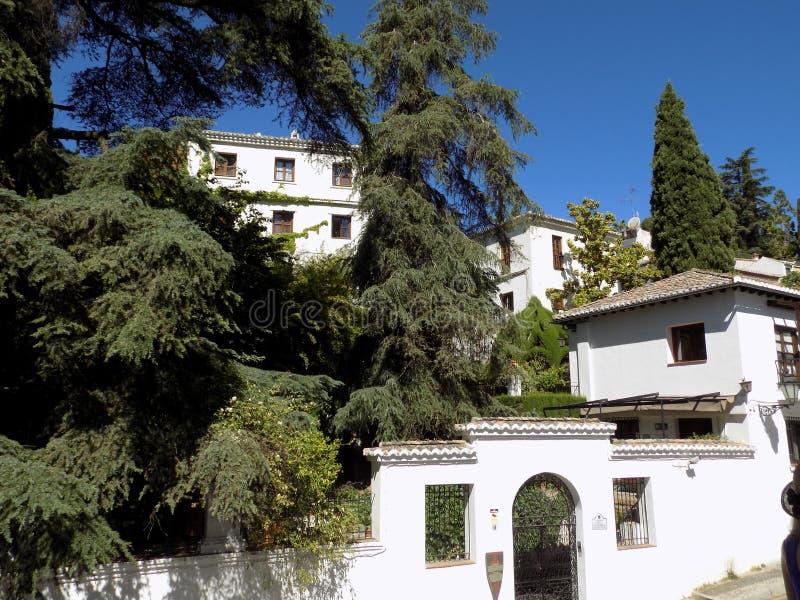 La Victoria albayzin-Granada van Carmen DE stock afbeeldingen