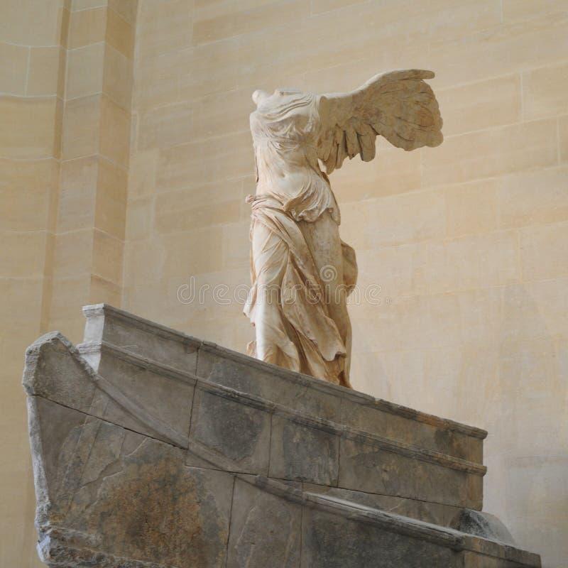 La victoria coa alas de Samothrace foto de archivo libre de regalías