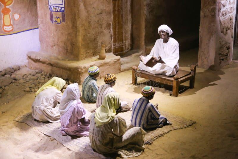 La vida de los beduinos del desierto - Egipto fotos de archivo libres de regalías