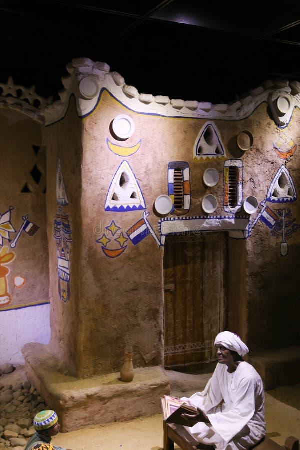 La vida de los beduinos del desierto - Egipto fotos de archivo
