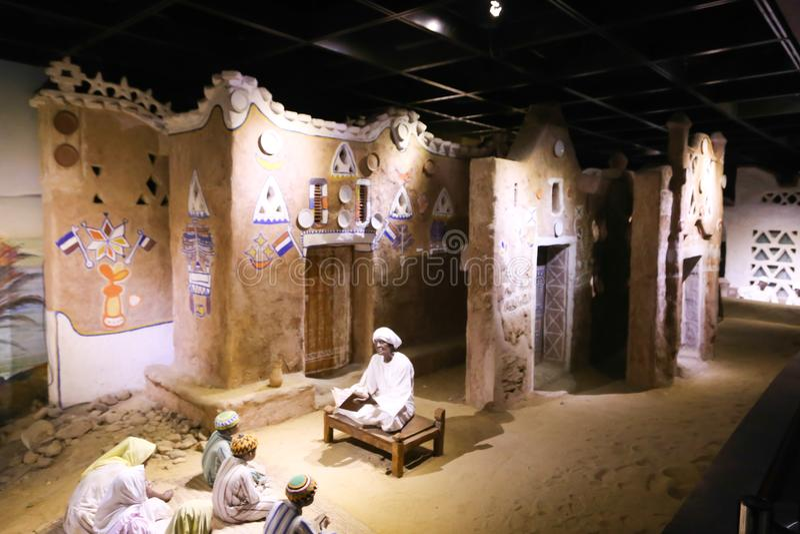 La vida de los beduinos del desierto - Egipto imagenes de archivo