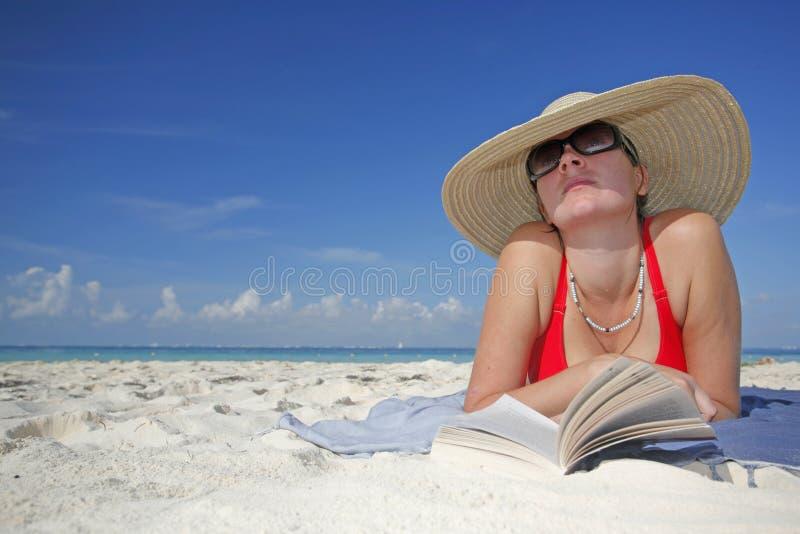 La vida es una playa fotografía de archivo