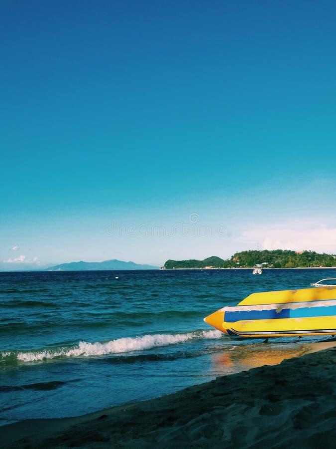 La vie à la plage photographie stock libre de droits