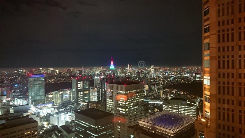 La vie à Tokyo photographie stock libre de droits