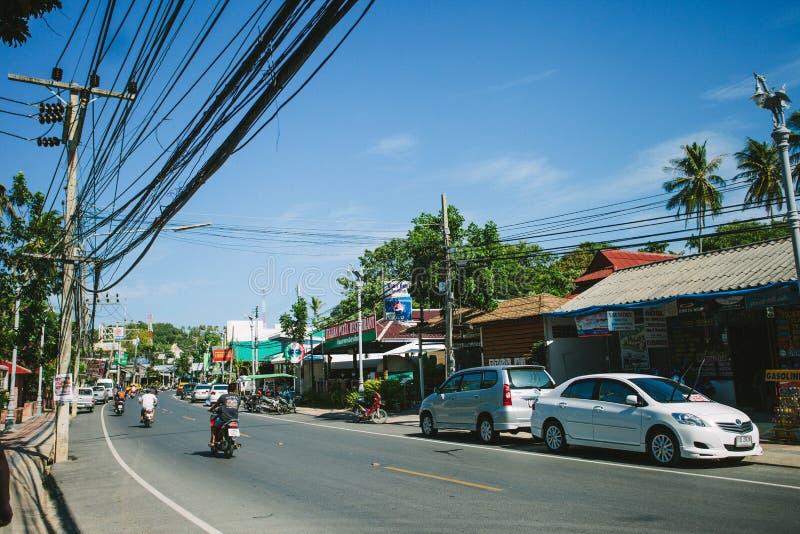 La vie d'île de la Thaïlande photographie stock libre de droits