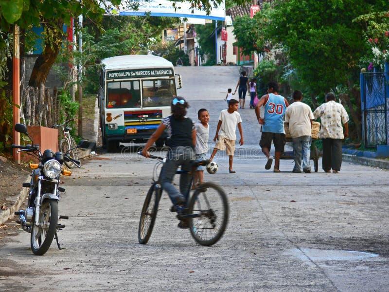 La vie dans Ometepe photo libre de droits
