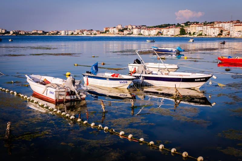La vie dans une petite ville turque photo libre de droits