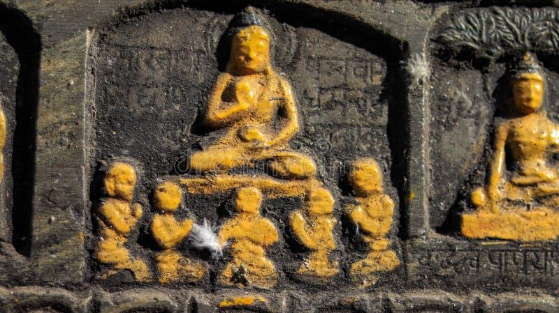 La vie de Bouddha photo stock