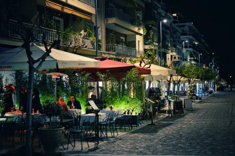 La vie de nuit à Athènes photos stock