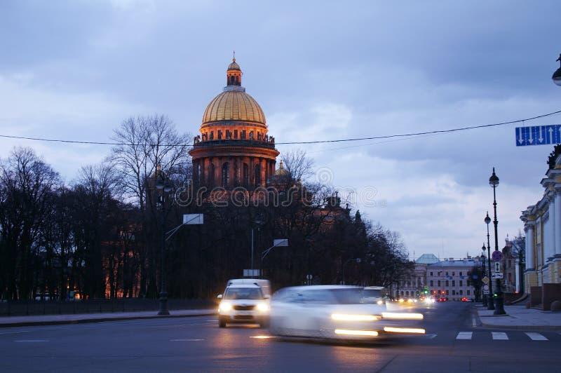 La vie de St Petersburg photos stock