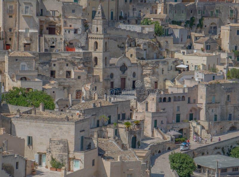 La vie douce dans un matin de ressort dans une ville italienne photo libre de droits