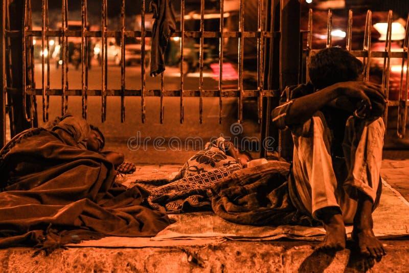 La vie pauvre de personnes photos libres de droits