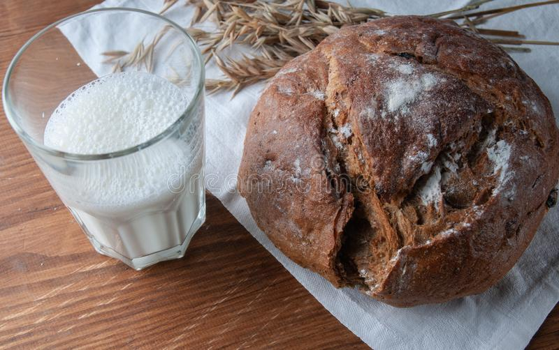 La vie toujours au sujet du pain, photographie stock
