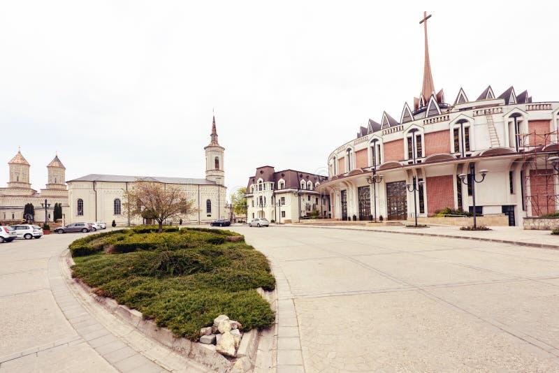 La vieille cathédrale catholique photographie stock libre de droits