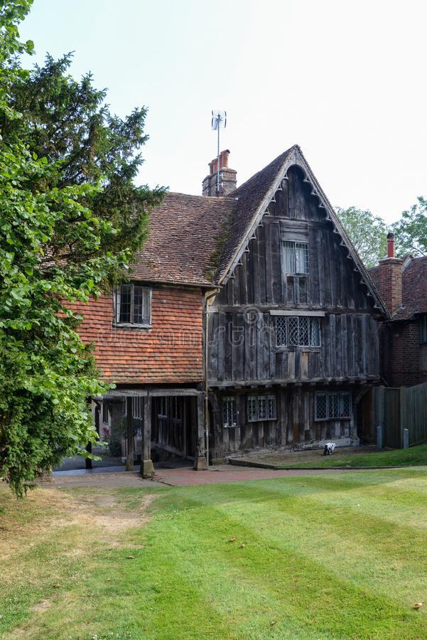 La vieille Chambre Penshurst de guilde photos libres de droits