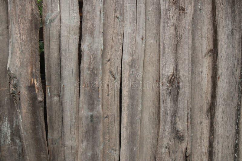 La vieille frontière de sécurité en bois photographie stock libre de droits