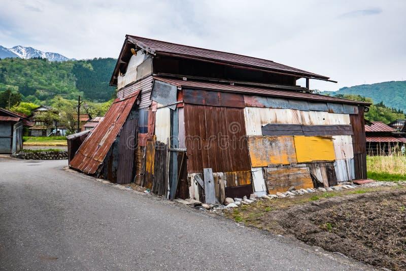La vieille maison Shirakawa-vont dedans images stock
